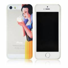 iPhone 5S K�l�f 0.2mm Princess �effaf Arka Kapak