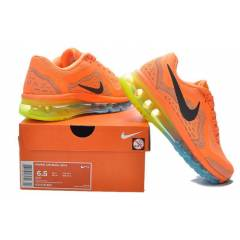 Nike Air Max 2014 Mix Orange Bayan Spor Ayakkab�