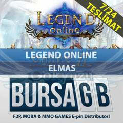 Legend Online 1500+150 Elmas Oasis Games Legend