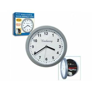 SAAT �EKL�NDE KASA WALL CLOCK W�TH H�DDEN SAFE
