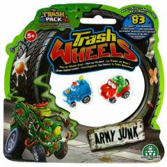 Trash Wheels ��ps Tekerler 2li Paket Army Junk 1