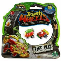 Trash Wheels ��ps Tekerler 2li Paket Take Away 1