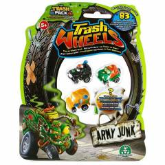 Trash Wheels ��ps Tekerler 4l� Paket Army Junk 2