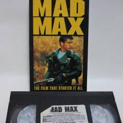 MAD MAX VIDEO KASET