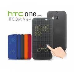 HTC ONE M8 KILIF DOT VIEW KILIF AKILLI KAPAK