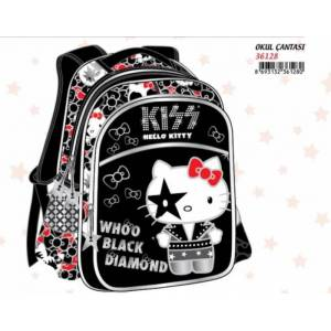 HELLO KITTY KISS OKUL �ANTASI H-36128 ORJ�NAL