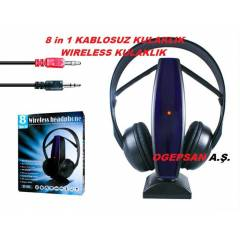 8 in 1 KABLOSUZ ( wireless ) KULAKLIK SF-880