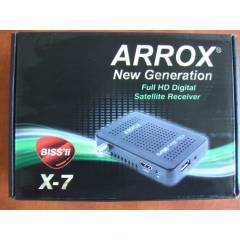 ARROX X-7 mini full hd uydu al�c�s� bissli