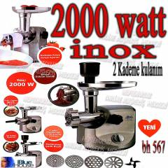 BLUE HOUSE inox 2000 WATT s�per k�yma makinas�
