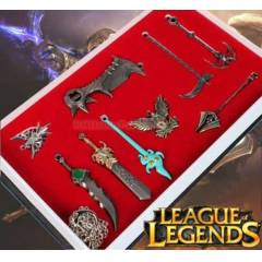 league of legends weapons silahlar metal anahtar