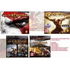 GOD OF WAR COLLECT�ON TOPLAM 6 OYUN PS3 OYUNU HD