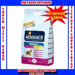 ADVANCE MEDIUM SENIOR YA�LI K�PEK MAMASI 12 KG