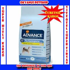 ADVANCE PERFORMANS K�PEK MAMASI 15 KG