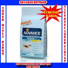 ADVANCE MEDIUM LIGHT K�PEK MAMASI 3 KG