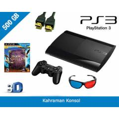 PS3 500 GB 3D SUPER SLIM + MOVE PACK