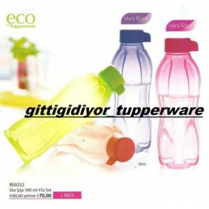 TUPPERWARE EKO ���E 500 ML.SULUK RENK SE��N