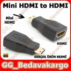 Mini Hdmi to Hdmi �evirici - SLR Kameralar i�in