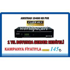 AMSTRAD 19400PVR FULLHD+  CCCAM 1 YIL HED�YE