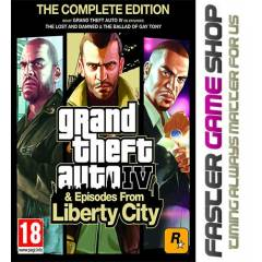 Grand Theft Auto IV GTA 4 Complete Edt. Steam