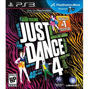 JUST DANCE 4 PS3 PAL MOVE SIFIR KUTUSUNDA