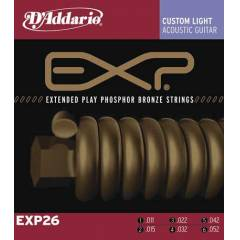 D'addario EXP26 - Custom Light Tak�m Tel
