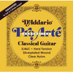 D'addario EJ46C Composite  - Hard Tension Tak�m