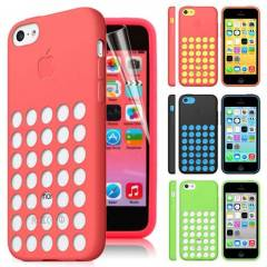 iPhone 5c K�l�f Silikon Apple Desing USA S�PER