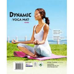 Dynamic Yoga, Pilates ve Egzersiz Minderi -PEMBE