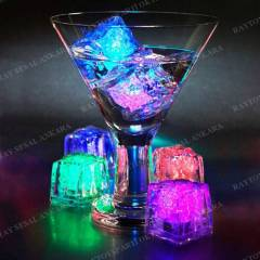 1 ADET LED I�IKLI BUZ K�P NEW L�GHT ICE CUBE