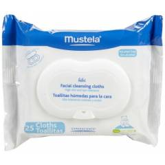 Mustela Facial Cleansing Cloths 25 Adet 2li