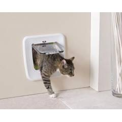 Access 4 Y�nl� Upgradable Kedi Kap�s� - Beyaz
