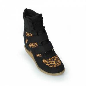 SHOE LOVE SNEAKERS LEOPAR VE LAC� CH�LET
