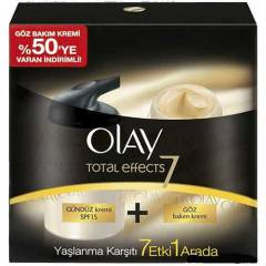 Olay Total Effects G�nd�z + G�z Kremi Seti