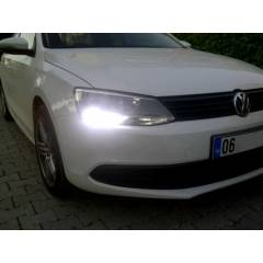 VW POLO JETTA SCIROCCO DRL G�ND�Z FARI LED AMPUL