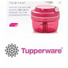 TUPPERWARE S�PER �EF YEN� RENG� �LE DO�RAYICI