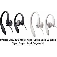 Philips SHS3200 Kulak Ask�l� Extra Bass Kulakl�k