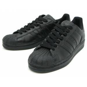 Adidas SUPERSTAR 2 FULL BLACK MEN SHOES