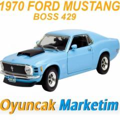 MOTORMAX 1:18 MODEL ARABA 1970 FORD MUSTANG BOSS