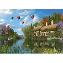 1000 PAR�A PUZZLE OLD RIVER COTTAGE KS-11272