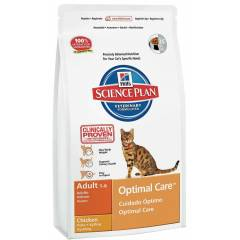 Hills Optimal Care Tavuklu Kedi Mamas� 15 Kg