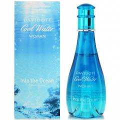 Davidoff Cool Water Woman Into The Ocean EDT 100