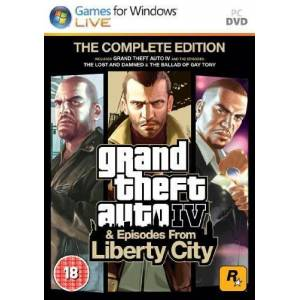 Grand Theft Auto IV Complete Steam Key