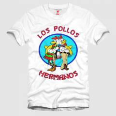 CRAZY Breaking Bad: Los Polos Herma Erkek Ti��rt
