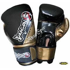Dragon Carbon Boks ve Kick-boks Eldiveni Siyah-A