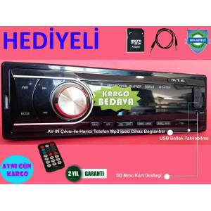 MP3 SD USB Oto Teyp ara� Teyip Araba Teybi Mp3