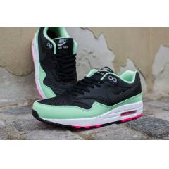 NIKE AIR MAX 1 YEEZY BLACK FRESH MINT PINK