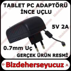TABLET PC ADAPT�R� �ARJ ALET� �NCE U�LU 5V 2A