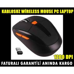 KABLOSUZ W�RELESS MOUSE PC LAPTOP MAUS 1200 DPI
