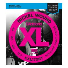 D'Addario EXL170BT Balanced Tension Tak�m Tel