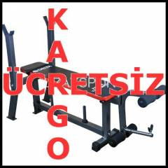 A�IRLIK BENCH SEHPASI FITNESS ALET� SPOR GYM TW1